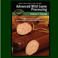 Outdoor Edge DVD- Advanced Wild Game Processing Vol 3 - Sausage