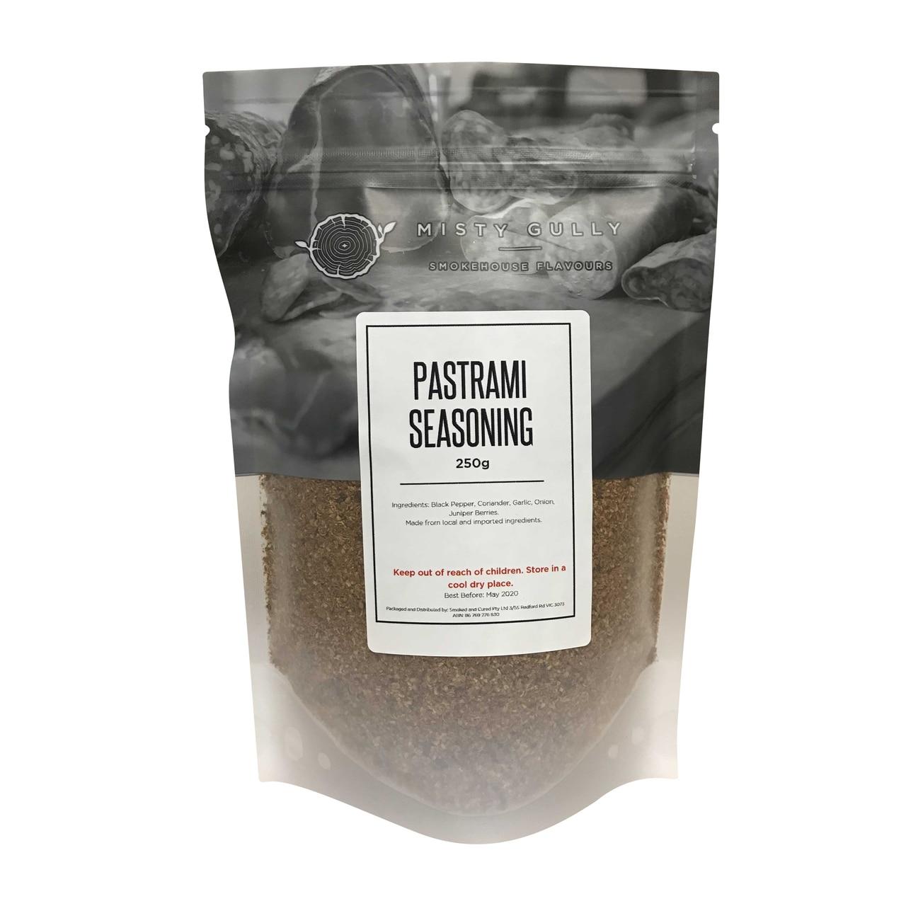 Pastrami Seasoning Mix 250g
