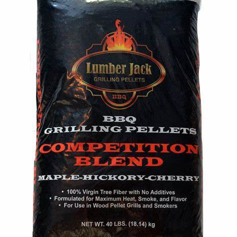 Lumber Jack Smoking Pellets 9kg - MHC Competition Blend
