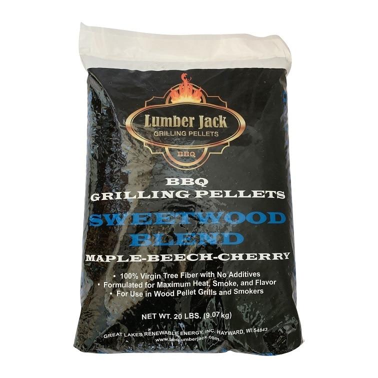 Lumber Jack Smoking Pellets 9kg - MBC Sweetwood Blend