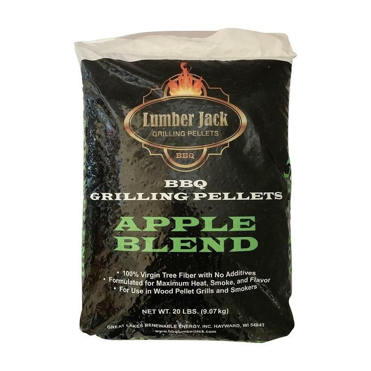 Lumber Jack Smoking Pellets 9kg - Apple Blend