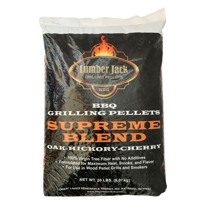 Lumber Jack Smoking Pellets 9kg - OHC Supreme Blend