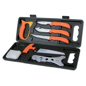 Wild Pak - 8 Piece Game Processing Set from Outdoor Edge