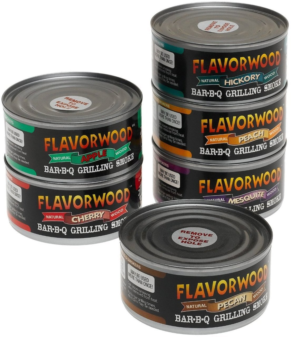 Camerons Flavorwood Smoke Cans 3 Pack