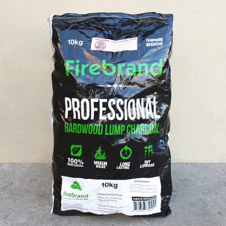 Firebrand Charcoal Natural Hardwood Lump - Professional 10kg