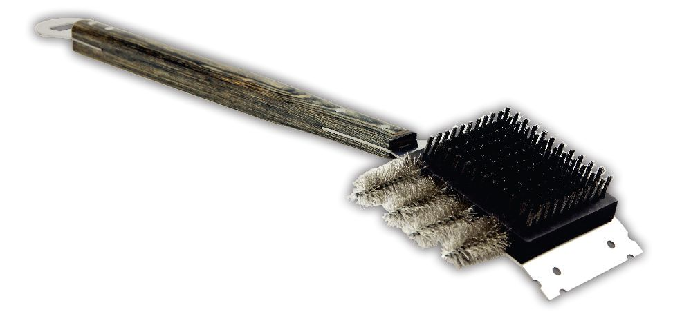 Heavy Duty Man Law Giant Grill Cleaning Brush