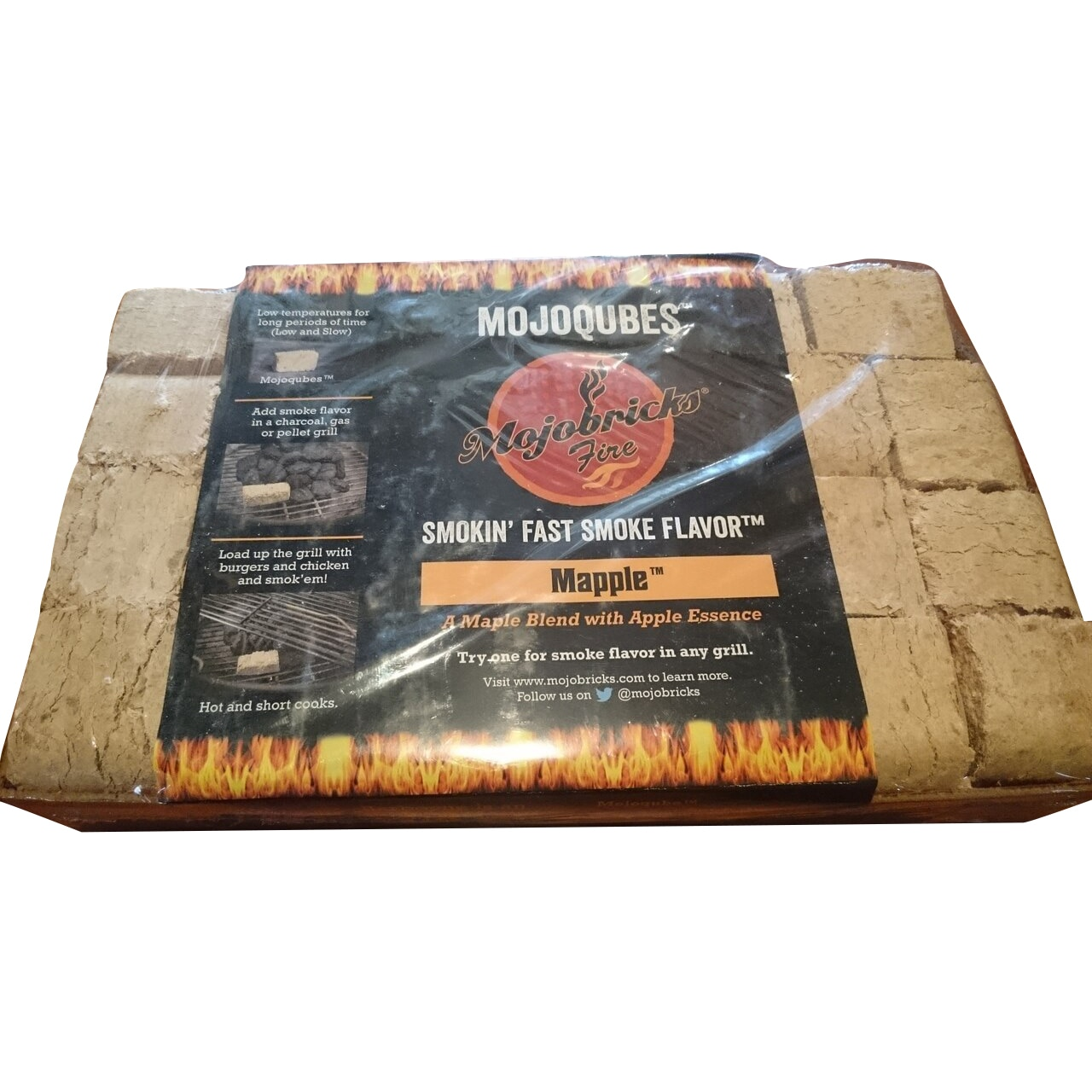 Mojobrick - BBQ Chunks - 28 pack