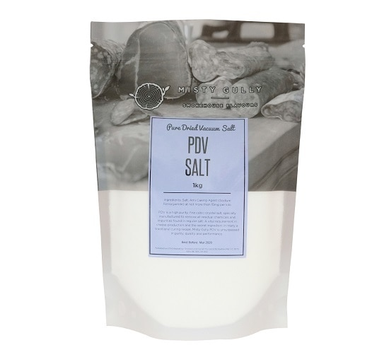 PDV Salt (Pure Dried Vacuum Salt) - 1kg